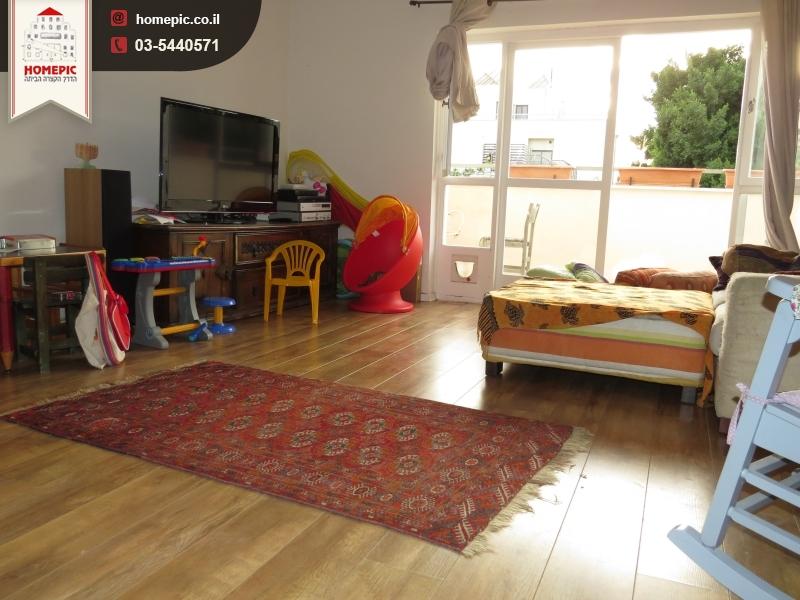 סנסציוני באיזור רוטשילד דירת 3 חדרים משופצת אדריכלית עם מרפסת שמש - Homepic AQ-33